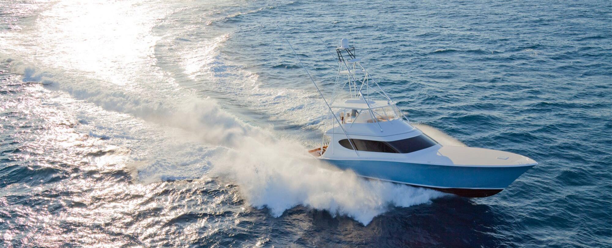 Hatteras boat